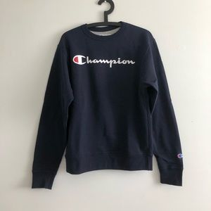 CHAMPION Logo Crew Neck Sweater